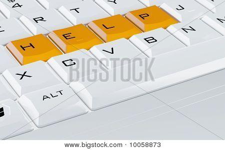 orange buttons help