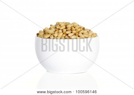 Pine Nuts In A Cup