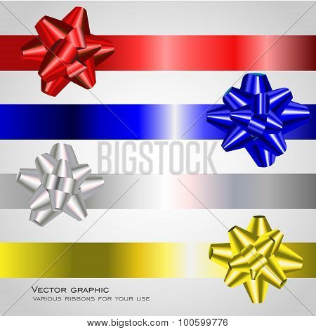 Various ribbons for your use