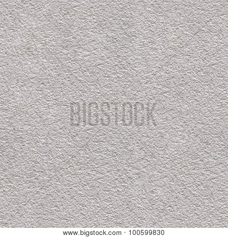 White Plaster Seamless Texture Background