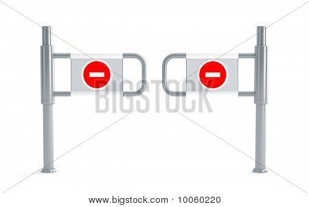 Metal turnstiles