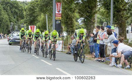 Team Cannondale-garmin - Team Time Trial 2015