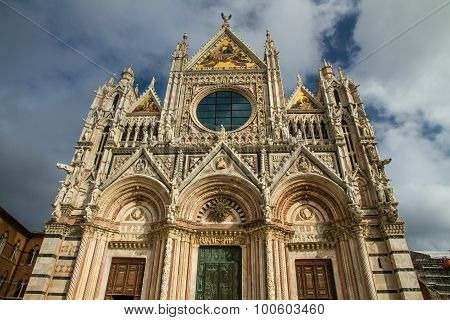 Siena Cathedral Front - Siena, Tuscany, Italy