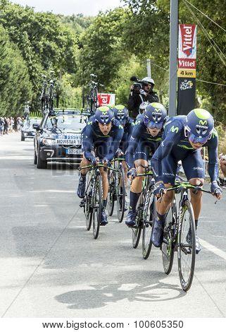 Team Movistar - Team Time Trial 2015
