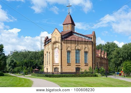 Building Of Christian Baptist Cathedral