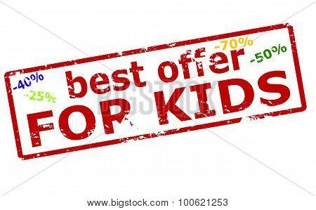 Best Offer For Kids