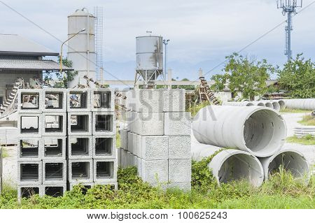 Precast Concrete For Drains