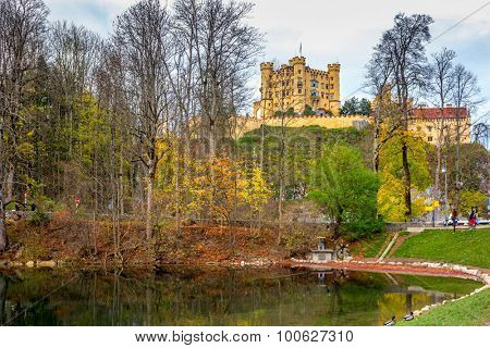 Hohenschwangau castle, Schwangau, South Bavaria, Germany
