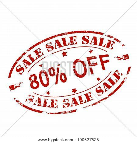 Sale Eighty Percent Off