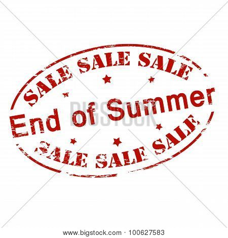 Sale End Of Summer