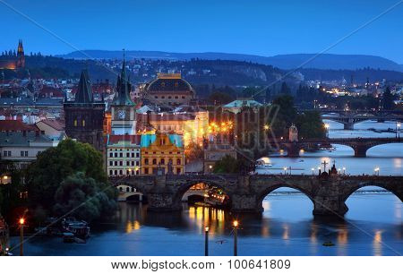 Prague, capital city of Czech Republic