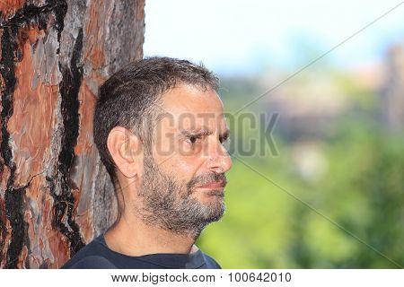 Mature Man Outdoor