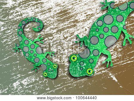 Textured Lizards