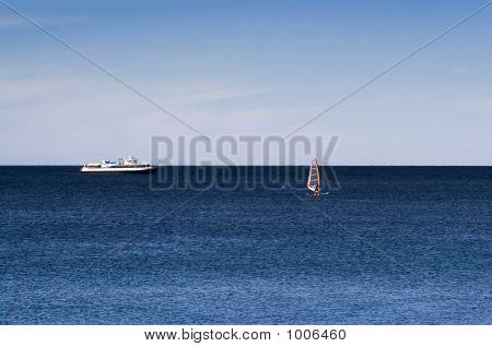 Sail At Sea