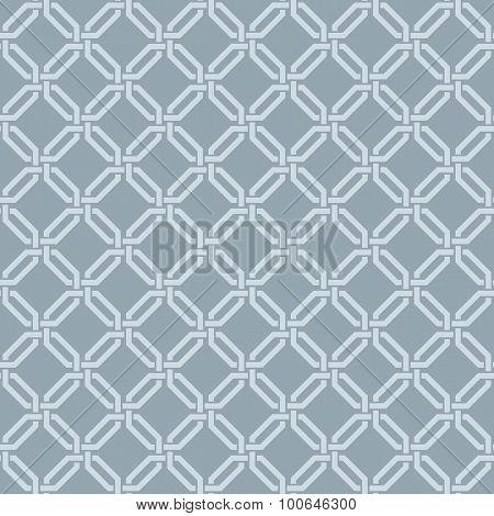 Seamless vector interwoven damask pattern
