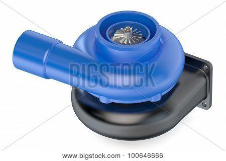 Turbocharger Closeup