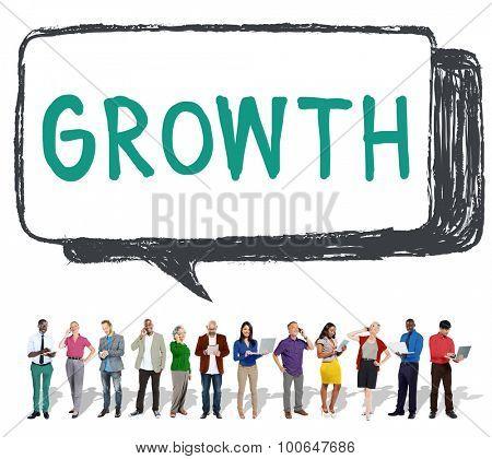 Growth Grow Development Improvement Enlargement Concept