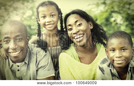 Family Togetherness Unity Parents Son Concept