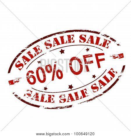 Sale Sixty Percent Off