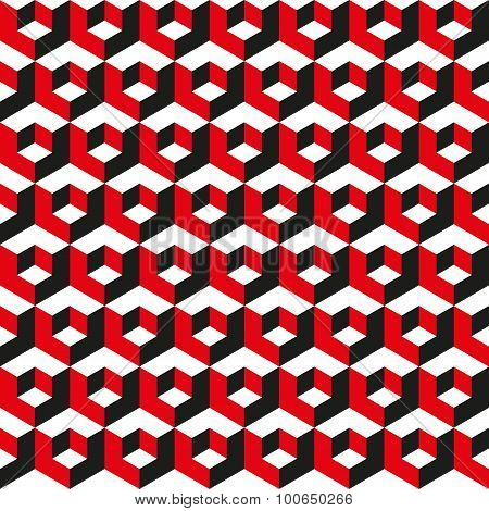 Seamless Geometric Abstract Pattern Background