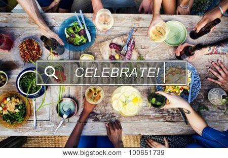 Celebration Cheerful Enjoyment Casual Party Happiness Concept