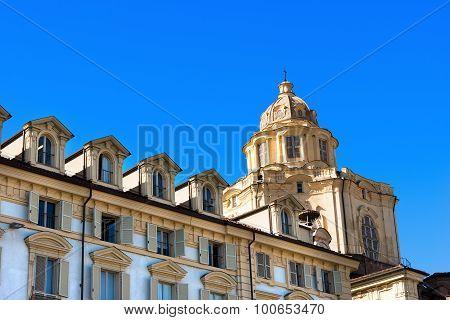 Church Of San Lorenzo - Turin Italy