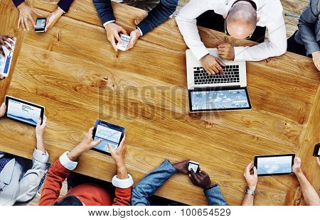 Group Business People Corporate Meeting Concept