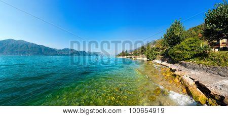 Lago Di Garda - Garda Lake In Italy