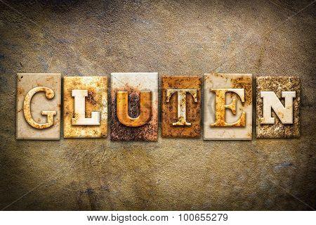 Gluten Concept Letterpress Leather Theme