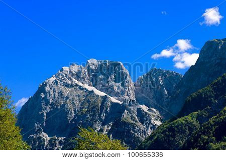 Peak Of Jalovec - Slovenia Europe