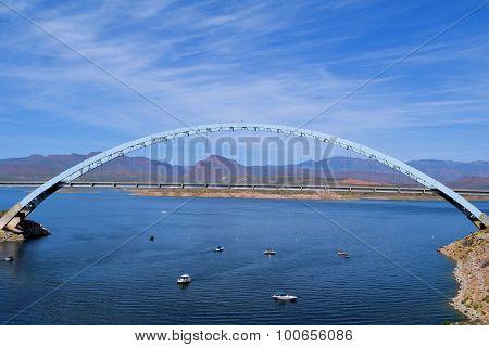 Bridge at Roosevelt Lake