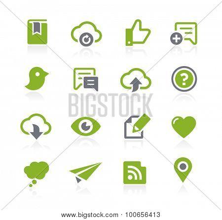 Social Sharing Icons // Natura Series