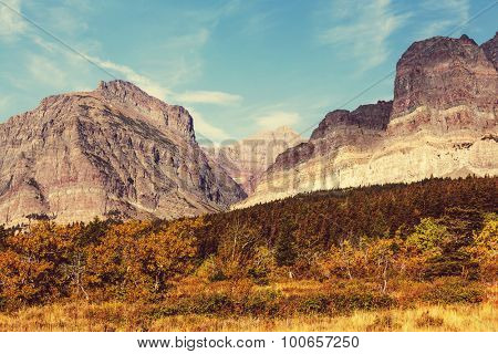 Autumn in Glacier NP, Montana, USA