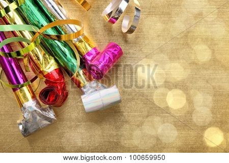 Party decoration for New Year's holiday