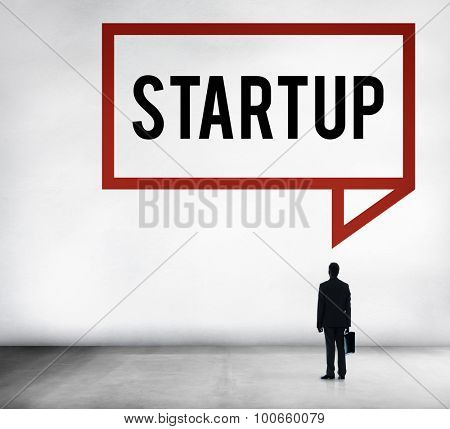 Startup Business Plan Innovation Planning Concept