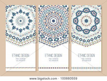 Set Of Ethnic Banners.