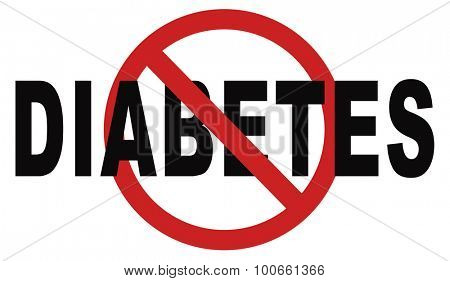 stop diabetes eat less sugar go on a diet and eat healthy prevention