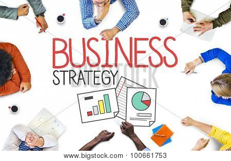 Business Strategy Planning Brainstorm Concept