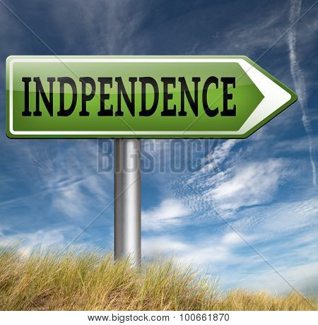 independent life live free and in independence no interference self employed