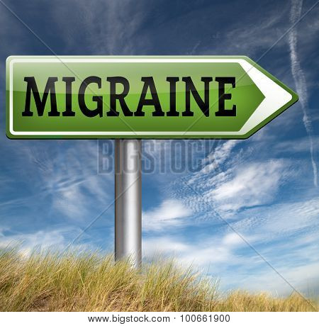 migraine acute or chronic headache need for painkiller or prevent pain