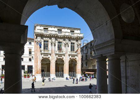 Vicenza, Loggia Del Capitaniato