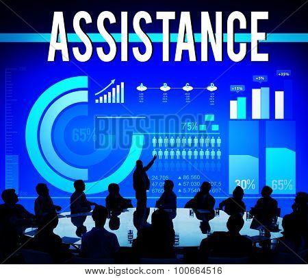 Assistance Assist Cooperation Partnership Support Concept