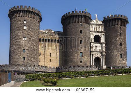 Castel Nuovo In Naples, Italy