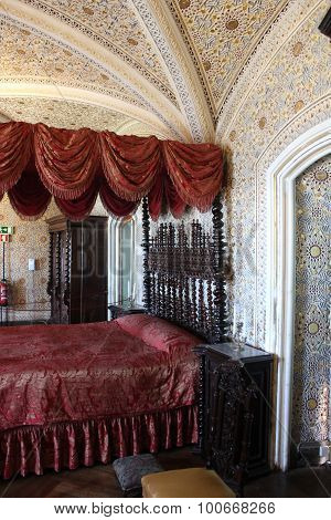 Bedroom In Sintra National Palace