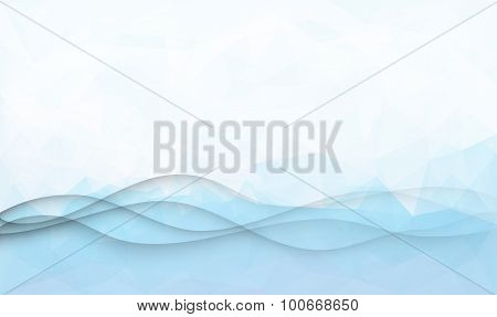 Elegant waves background
