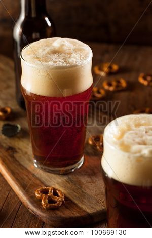 Fresh Brewed Oktoberfest Autumn Ale