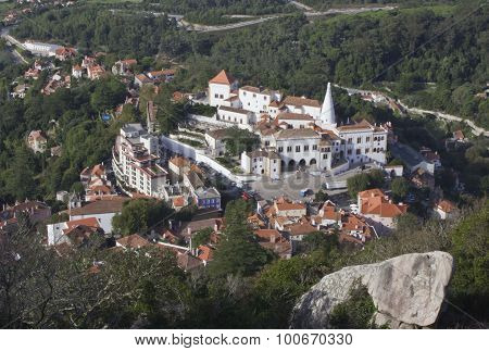 View From The Top Of The Hill Of Sintra