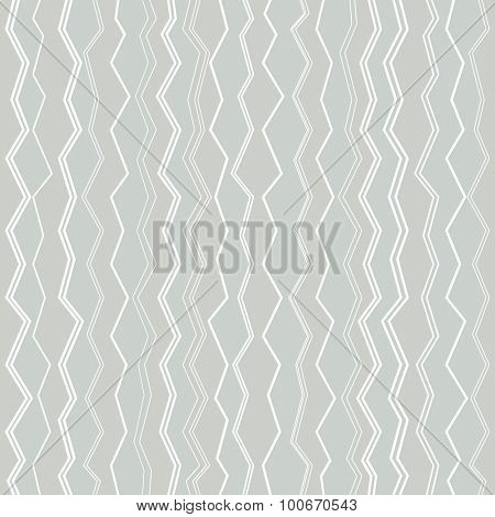 Seamless fractured vertical lines vector pattern.