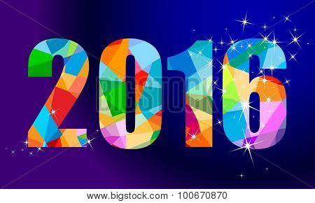2016 new year design