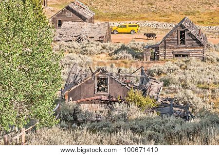 Ghost Town Contrasts